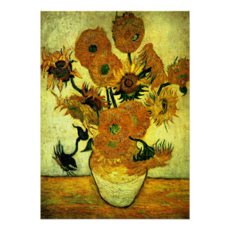 Van Gogh - Sonnenblumen, 14 Poster