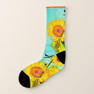 Van Gogh - Sonnenblumen - Kunst-Socken - Männer Socken
