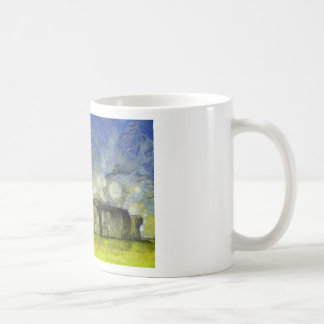 Van Gogh stonehenge Kaffeetasse