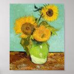 Van Gogh - tournesols Posters