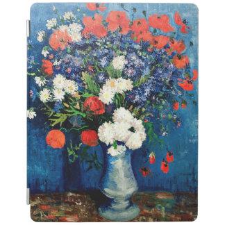Van Gogh - Vase mit Cornflowers und Mohnblumen iPad Hülle