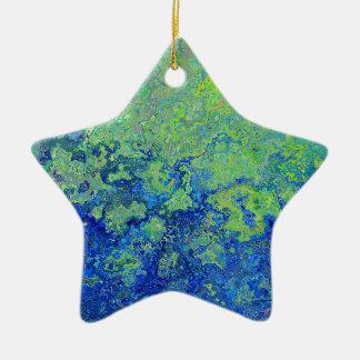 Van- Goghart-Farben-Muster Keramik Ornament