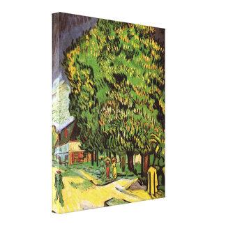 Van- GoghKastanienbäume in der Blüte, schöne Kunst Leinwanddruck