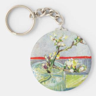 Van- Goghkunst, blühende Mandel-Niederlassung in Schlüsselanhänger