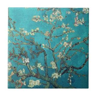 Van- Goghmandel-Blüten-Fliese Kleine Quadratische Fliese