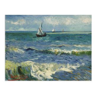 Van- GoghMeerblick-Postkarte Postkarte