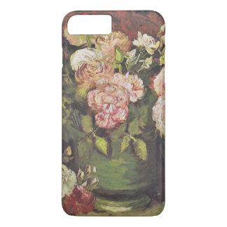Van Goghpfingstrosen-und -ROSEN-Blumenkunst iPhone 8 Plus/7 Plus Hülle