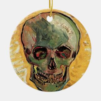 Van- Goghschädel, Vintager noch Rundes Keramik Ornament
