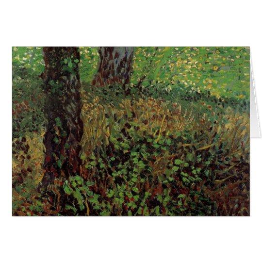 Van- Goghunterholz, Vintage Impressionismus-Kunst Karte