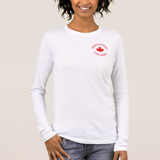 Vancouver Kanada Langarm T-Shirt