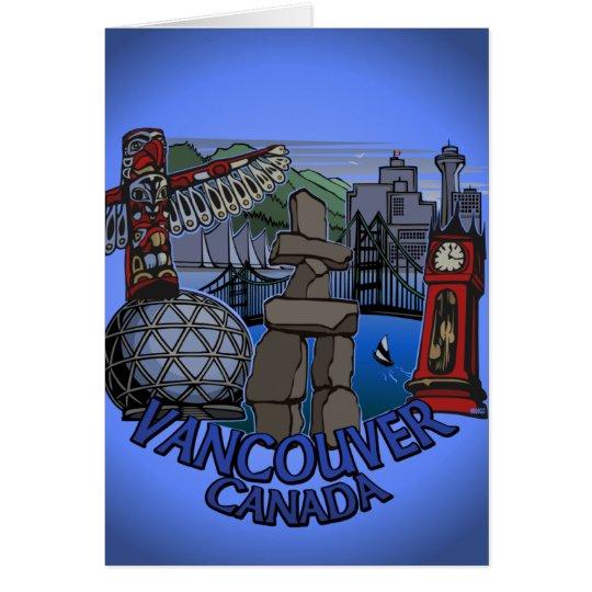 Vancouvers Karte