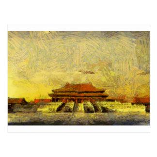 vangoghize_Forbidden-City Postkarte