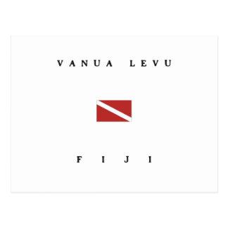 Vanua Levu Fidschi Postkarte