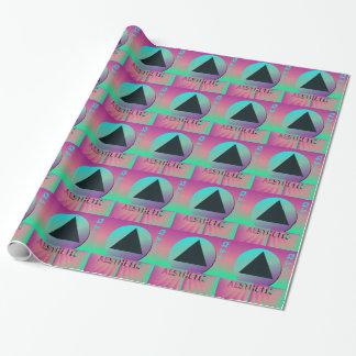 vaporwave ästhetisch geschenkpapier