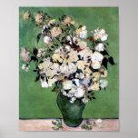 Vase avec les roses (F682), Vincent van Gogh Affiches