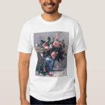 Vase de roses tee-shirt