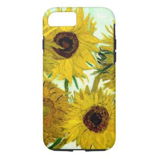 Vase mit zwölf Sonnenblumen, Van- Goghschöne Kunst iPhone 7 Hülle