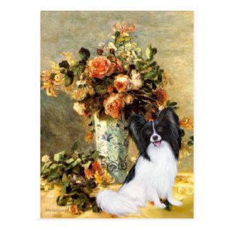 Vase - Papillon 1 Postkarte