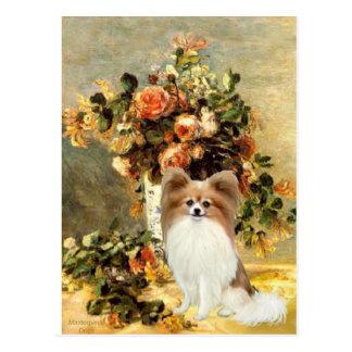 Vase - Papillon 4 Postkarte
