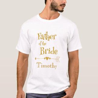 Vater der Braut personifizieren T-Shirt