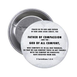Vater des Mitleid-Knopfes Runder Button 5,1 Cm