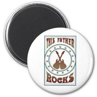 Vater-Felsen Runder Magnet 5,7 Cm
