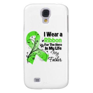 Vater-Held in meinem Leben-Lymphom-Band Galaxy S4 Hülle