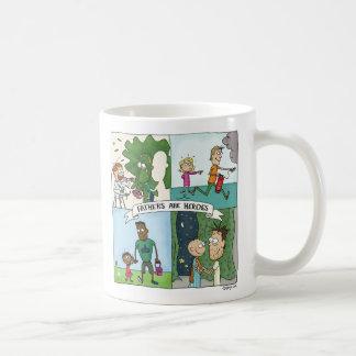Väter sind Helder Kaffeetasse