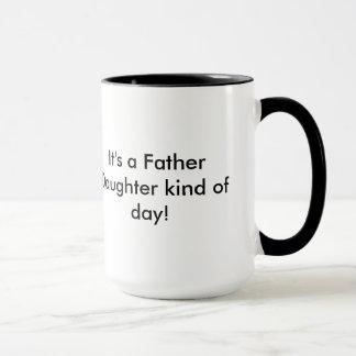 Vater-Tochtertag Tasse