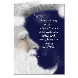 Vater-Weihnachtsgruß Karte