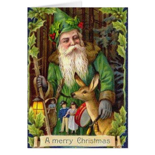 Vater-Weihnachtskarte Grußkarte