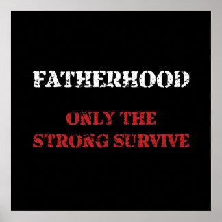 Vaterschaft überleben poster