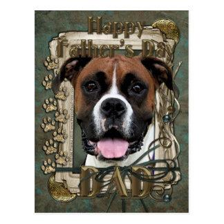 Vatertag - Boxer - Vindy Postkarten