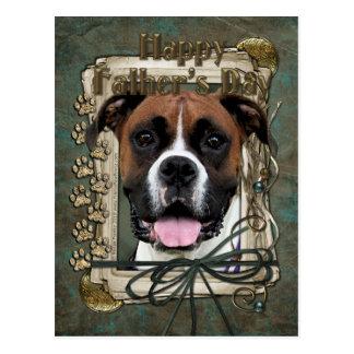 Vatertag - Boxer - Vindy Postkarte