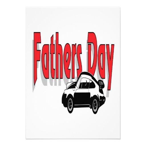 Vatertag Einladungskarte