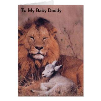 Vatertag Grußkarte