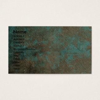 Vatertag - Steintatzen - Airedale Visitenkarten