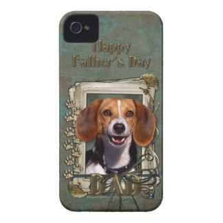 Vatertag - Steintatzen - Beagle iPhone 4 Hüllen