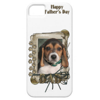 Vatertag - Steintatzen - Beagle-Welpe iPhone 5 Case