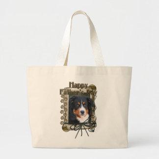 Vatertag - Steintatzen - Bernese Gebirgshund Tasche
