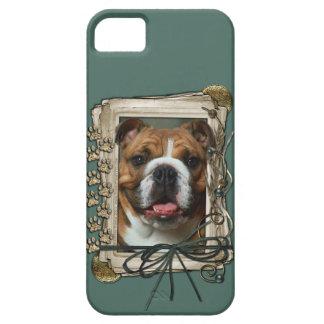 Vatertag - Steintatzen - Bulldogge Hülle Fürs iPhone 5