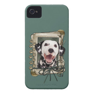Vatertag - Steintatzen - Dalmatiner iPhone 4 Case-Mate Hüllen