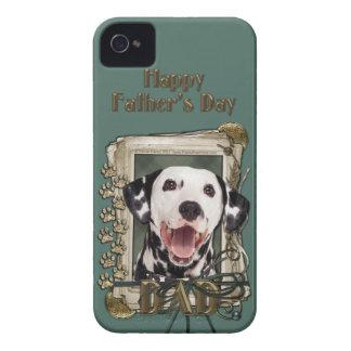 Vatertag - Steintatzen - Dalmatiner iPhone 4 Etuis