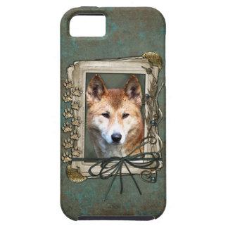 Vatertag - Steintatzen - Dingo iPhone 5 Schutzhülle