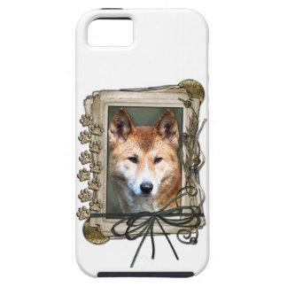 Vatertag - Steintatzen - Dingo iPhone 5 Schutzhüllen