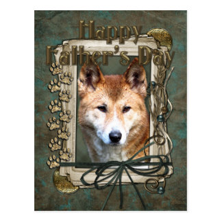 Vatertag - Steintatzen - Dingo Postkarte