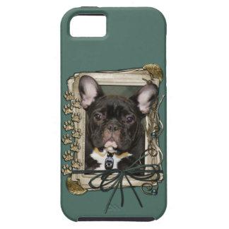 Vatertag - Steintatzen - französische Bulldogge -  Hülle Fürs iPhone 5