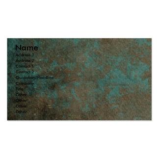 Vatertag - Steintatzen - Jack Russell Visitenkarte
