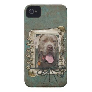 Vatertag - Steintatzen - Mastiff - Schnüffler iPhone 4 Case-Mate Hüllen