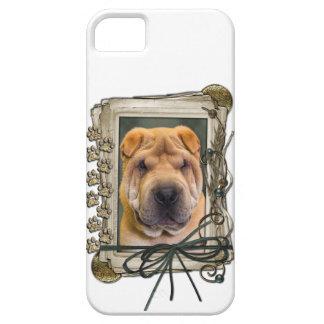 Vatertag - Steintatzen - Shar Pei iPhone 5 Case